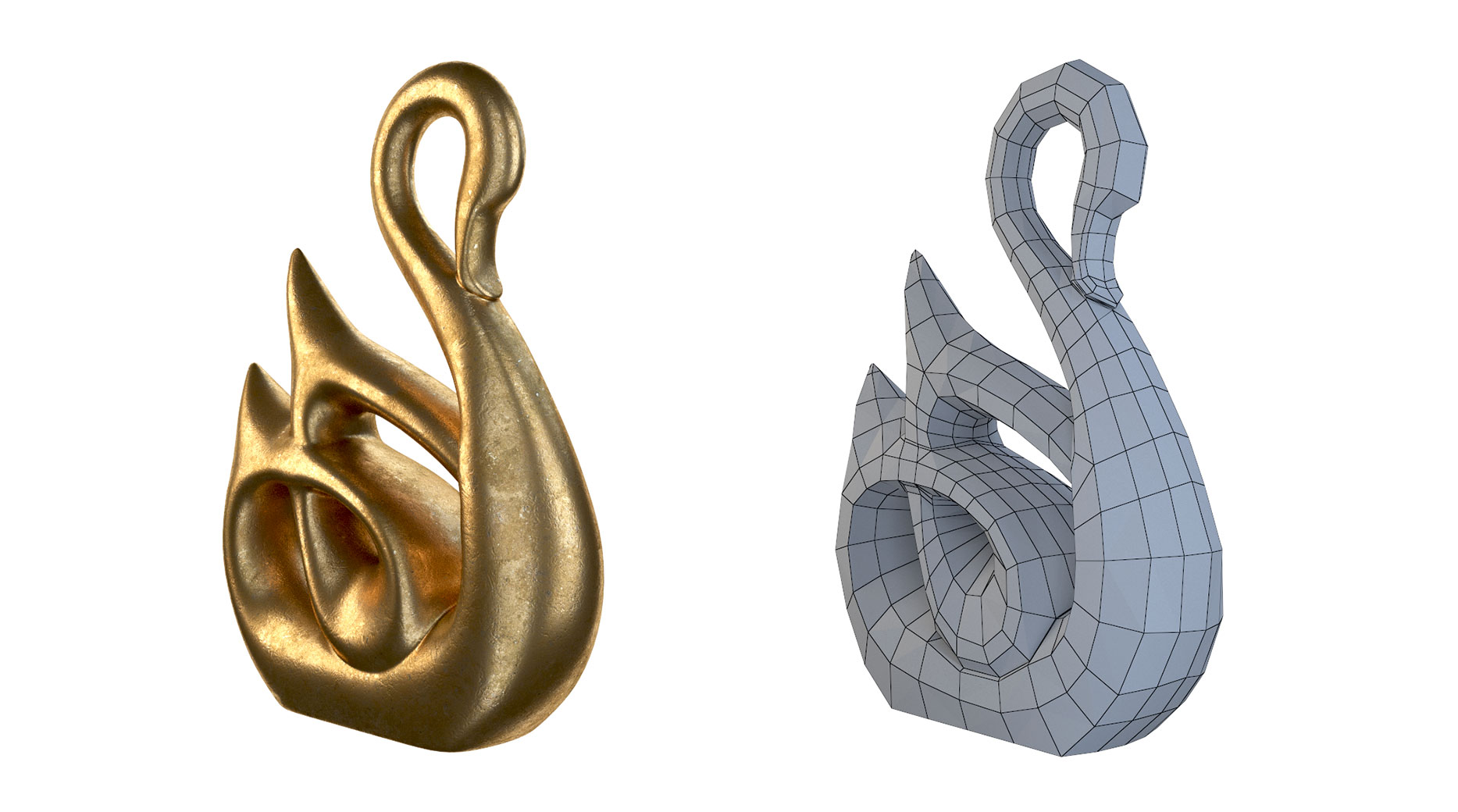 gallery-Home-Decor-Swan-Sculpture